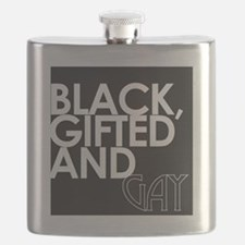 Black, Gifted & Gay Flask