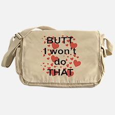 Meatloaf Undies Back Messenger Bag