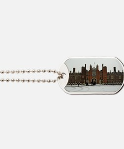 Hampton Court Palace in the Snow Dog Tags