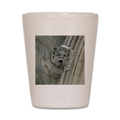 Salisbury Cathedral Gargoyle Shot Glass