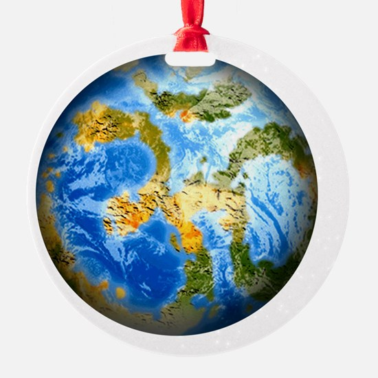 one people . one planet . one home Ornament
