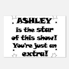 Ashley is the Star Postcards (Package of 8)