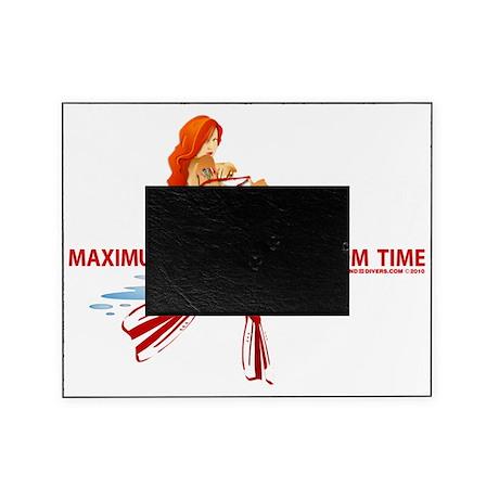 Scuba Maximum Bottom Time Picture Frame