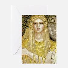 Athena iPad 2 case Greeting Card