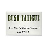 Bush Fatigue Rectangle Magnet (10 pack)