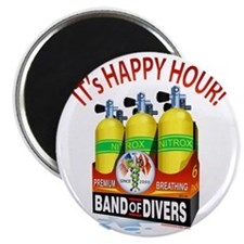 Band of Divers Happy Hour Magnet