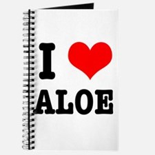 I Heart (Love) Aloe Journal