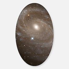 Spiral galaxy NGC 4603 Sticker (Oval)