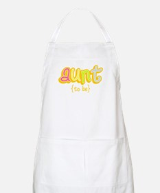 Aunt to Be BBQ Apron