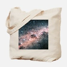 Starfield centred on the constellation of Tote Bag