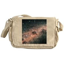 Starfield centred on the constellati Messenger Bag