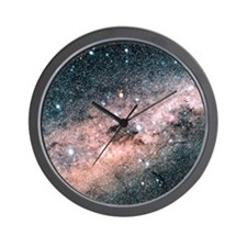 Starfield centred on the constellation  Wall Clock