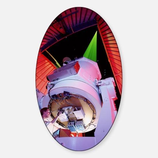 Starfire telescope Sticker (Oval)