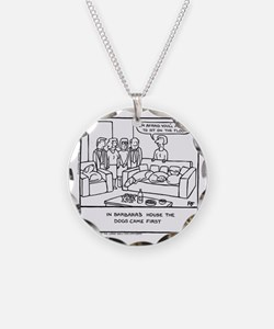 Sit On The Floor Necklace