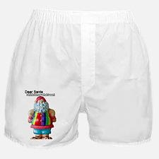 Dear Santa Christmas Boxer Shorts