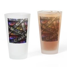 Photographic film, computer artwork Drinking Glass