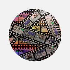 "Photographic film, computer artwork 3.5"" Button"