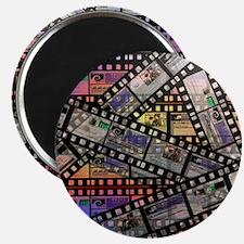 Photographic film, computer artwork Magnet