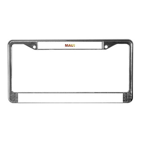 Maui, Hawaii License Plate Frame