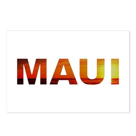 Maui, Hawaii Postcards (Package of 8)