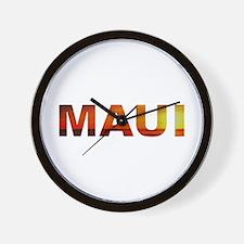 Maui, Hawaii Wall Clock