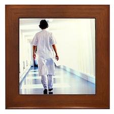 Physician assistant Framed Tile