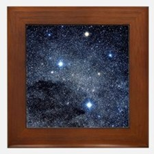 The constellation of the Southern Cros Framed Tile