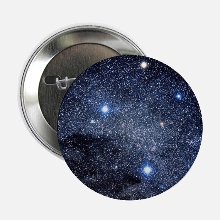 """The constellation of the Southern Cro 2.25"""" Button"""