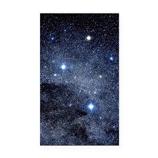 The constellation of the Sout Rectangle Car Magnet