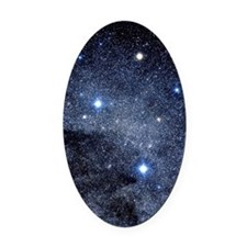 The constellation of the Southern  Oval Car Magnet