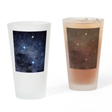 The constellation of the Southern C Drinking Glass