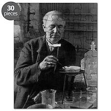 Thomas Edison, US inventor Puzzle