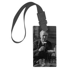 Thomas Edison, US inventor Luggage Tag