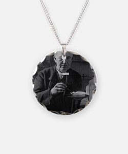 Thomas Edison, US inventor Necklace