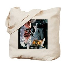 Surgeon aligns MAGI virtual reality micro Tote Bag