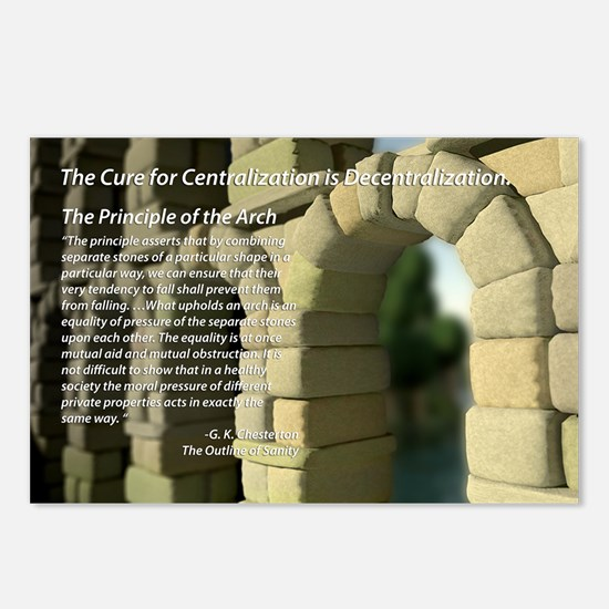The Principle of the Arch Postcards (Package of 8)
