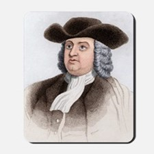 William Penn, English coloniser Mousepad