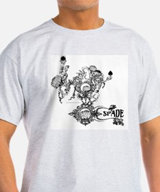 Skin The Queen of Spades T-Shirt