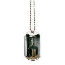 View beneath a kitchen sink Dog Tags