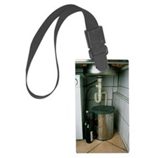 View beneath a kitchen sink Luggage Tag