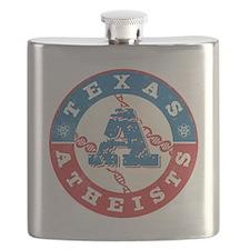 Texas Atheists Color Flask