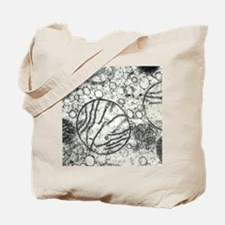 Transmission electron micrograph of mitoc Tote Bag
