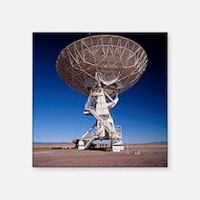 "Very Large Array (VLA) radi Square Sticker 3"" x 3"""