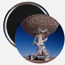 Very Large Array (VLA) radio antenna being  Magnet
