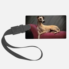 Whippet Lounge Luggage Tag