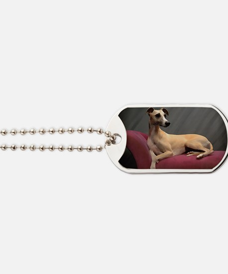 Whippet Lounge Dog Tags