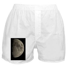 Waxing gibbous Moon Boxer Shorts