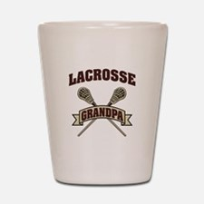 Lacrosse Grandpa Shot Glass