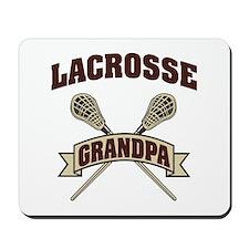 Lacrosse Grandpa Mousepad
