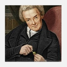 William Wilberforce, British politici Tile Coaster